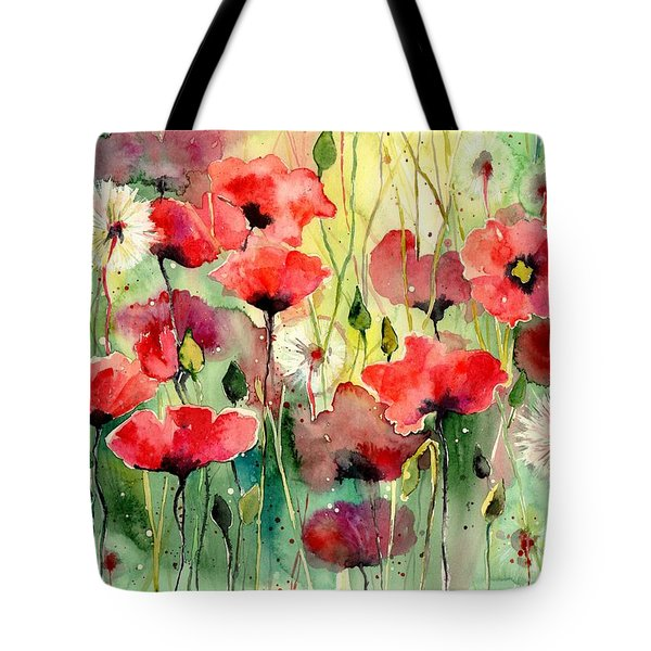 Dreamy Hot Summer Fields Tote Bag