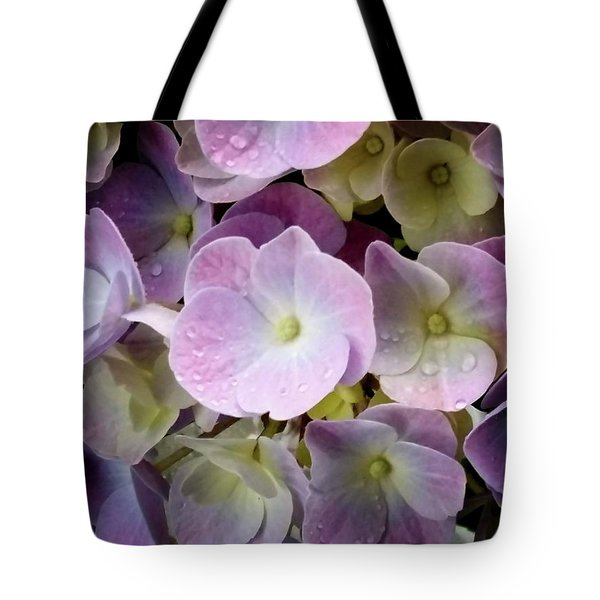 Tote Bag featuring the photograph Dreamy Hydrangea by Mimulux patricia no No