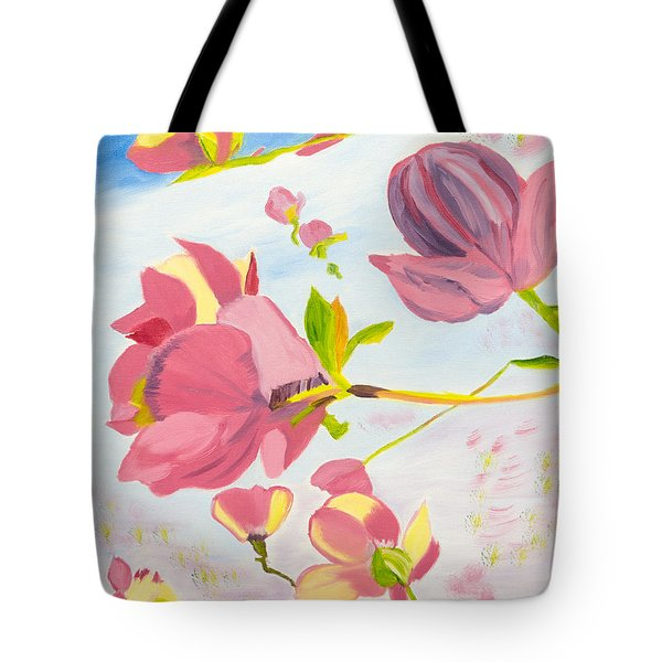 Dreamy Magnolias Tote Bag