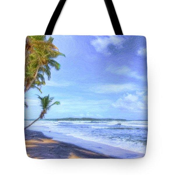 Dreamy Manzanilla Tote Bag