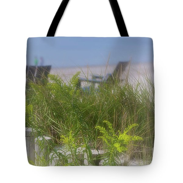 Dreamy Morning Walk On The Beach Tote Bag