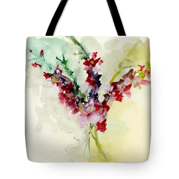 Dreamy Orchid Bouquet Tote Bag