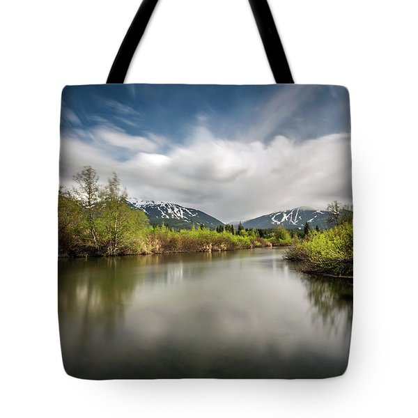 Tote Bag featuring the photograph Dreamy River Of Golden Dreams by Pierre Leclerc Photography