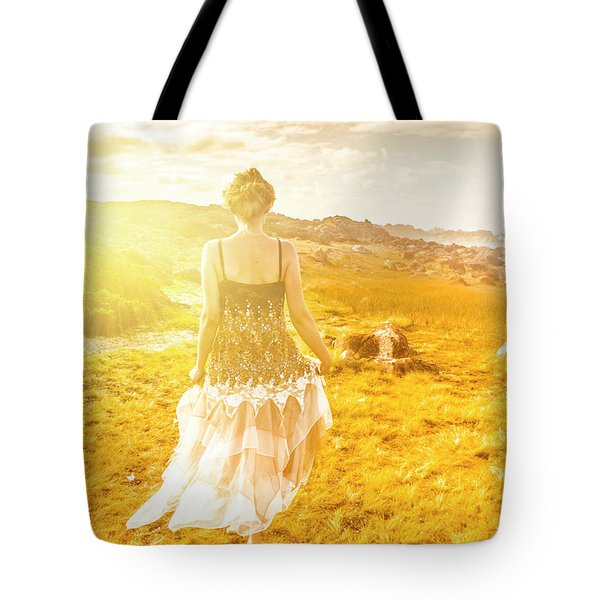 Dreamy Summer Fields Tote Bag