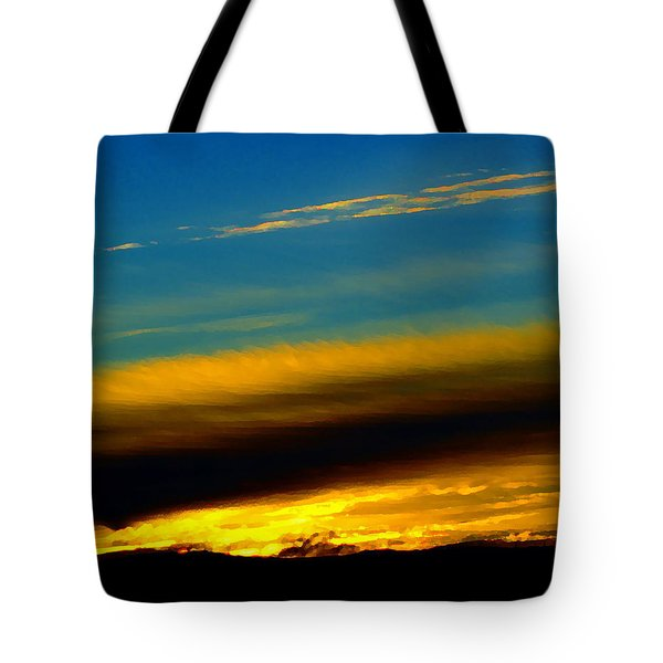 Tote Bag featuring the photograph Dreamy Sunset In Spokane by Ben Upham III
