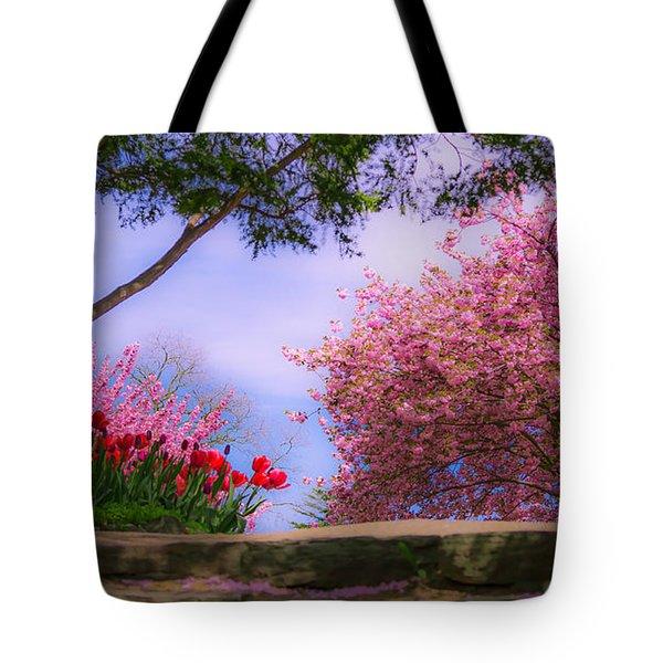 Dreamy Tulip Respite Tote Bag