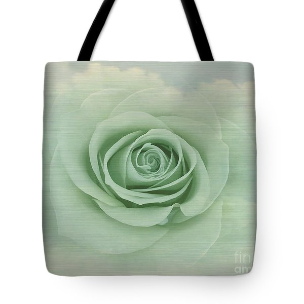 Dreamy Vintage Floating Rose Tote Bag