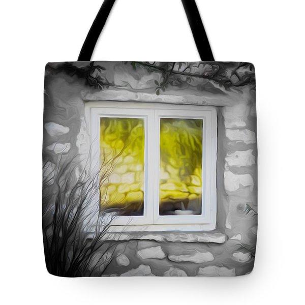 Dreamy Window Tote Bag
