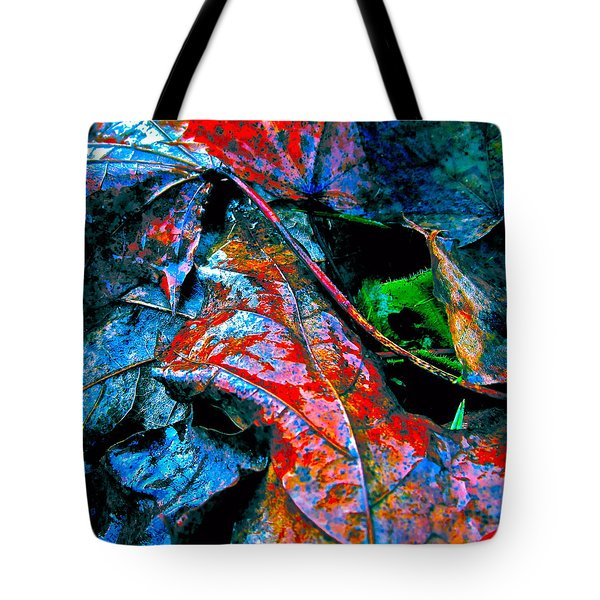 Drenched In Color Tote Bag by Gwyn Newcombe
