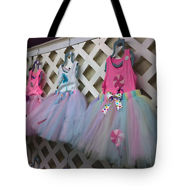 Dress For Three Tote Bag by Steve Sperry