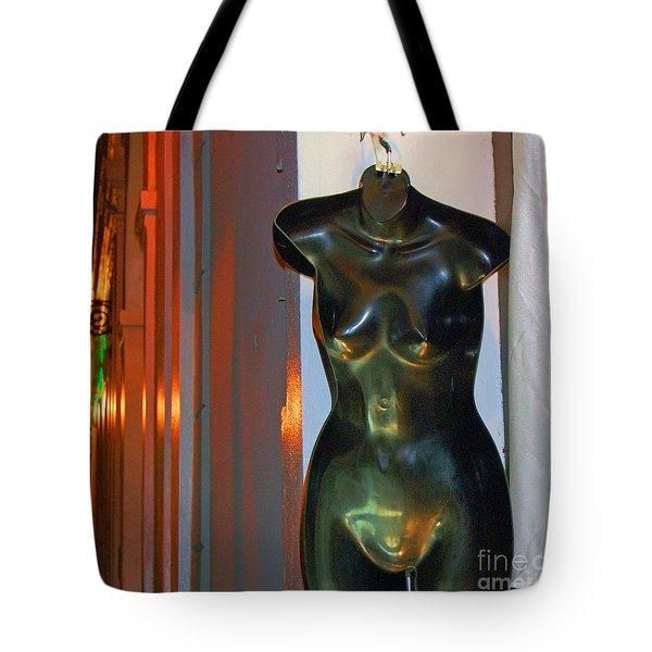 Dress Is Less Tote Bag by Debbi Granruth