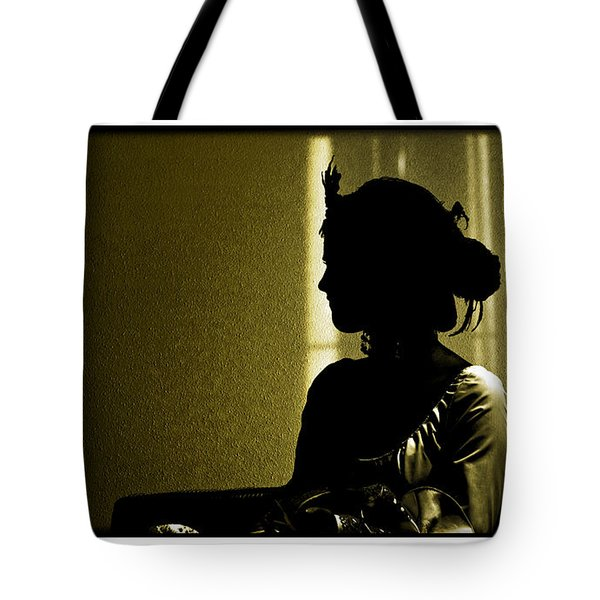 Dressed For The Corrida Goyesca Tote Bag by Mal Bray