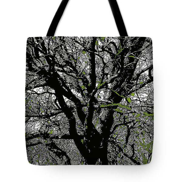 Dressed In Green Tote Bag