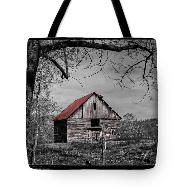Dressed In Red Tote Bag by Debra and Dave Vanderlaan