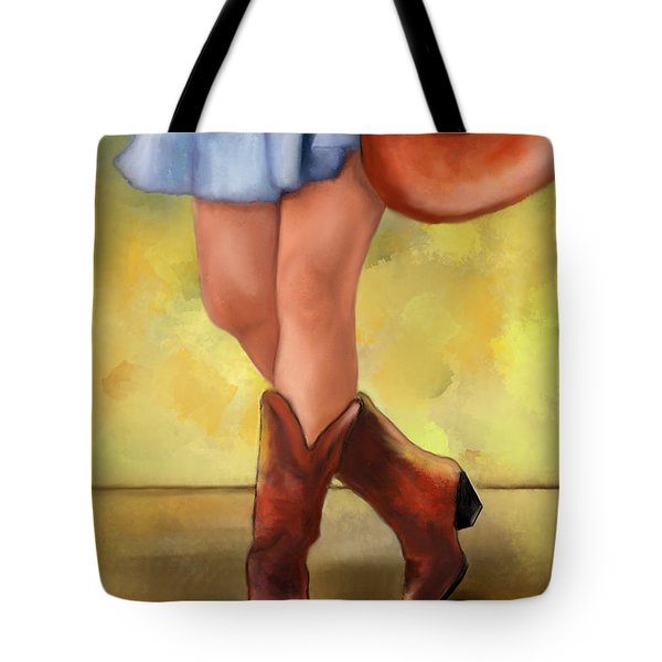 These Boots Are Made For Dancing Tote Bag