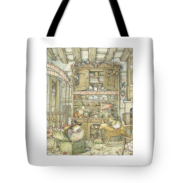 Dressing Up At The Old Oak Palace Tote Bag