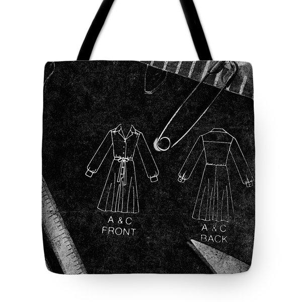 Dressmaking Handiwork Tote Bag