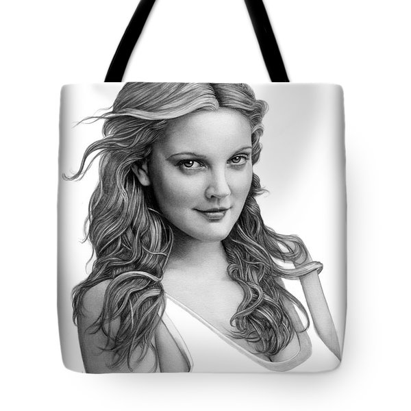 Drew Barrymore Tote Bag