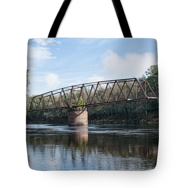 Drew Bridge Tote Bag