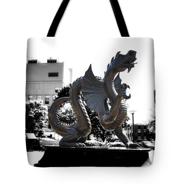 Drexel Dragon Tote Bag by Bill Cannon