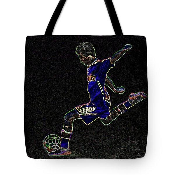 Dribbling Tote Bag