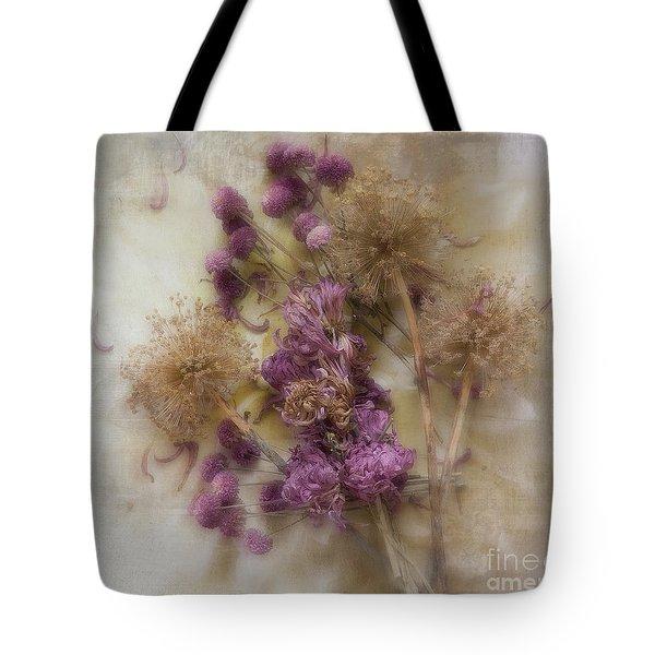 Dried Flowers Tote Bag