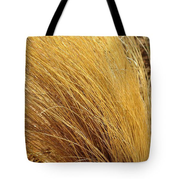 Dried Grass Tote Bag