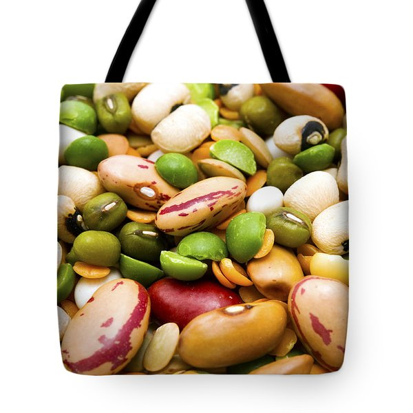 Dried Legumes And Cereals Tote Bag