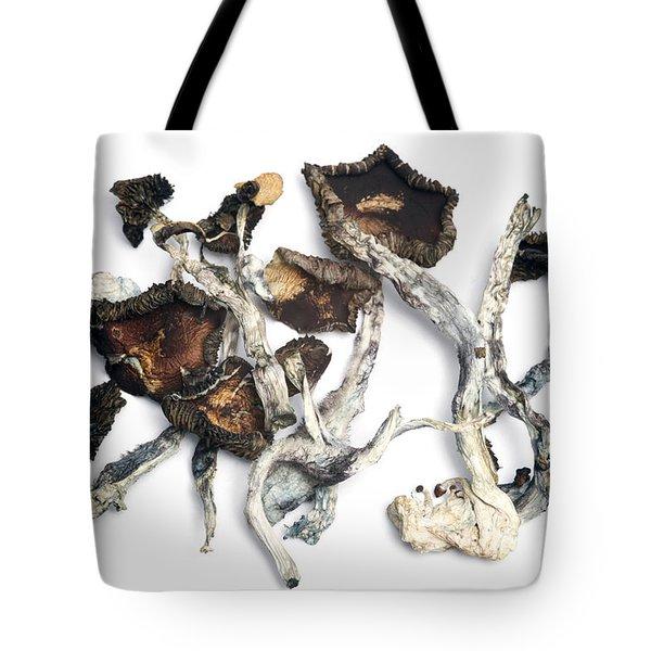 Dried Psilocybe Cubensis Tote Bag