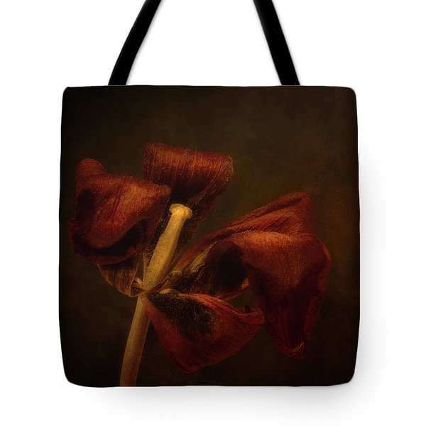 Dried Tulip Blossom 2 Tote Bag