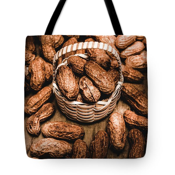 Dried Whole Peanuts In Their Seedpods Tote Bag