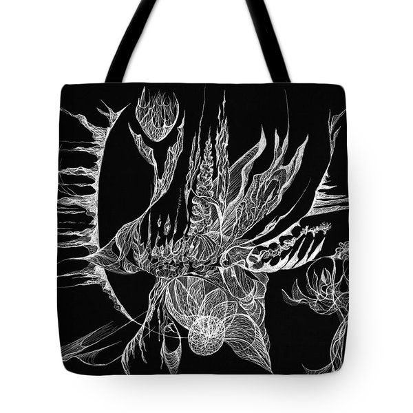 Drifted Tote Bag by Charles Cater