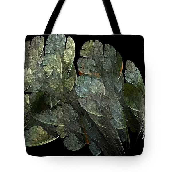 Tote Bag featuring the digital art Drifters by Richard Ortolano