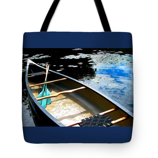 Drifting Into Summer Tote Bag by Angela Davies