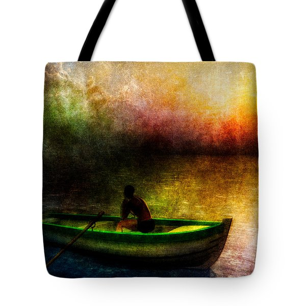Drifting Into The Light Tote Bag by Bob Orsillo
