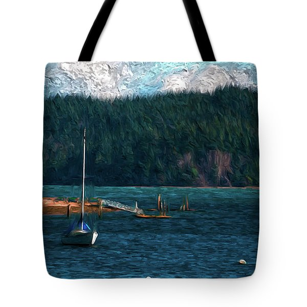 Drifting Tote Bag by Timothy Hack
