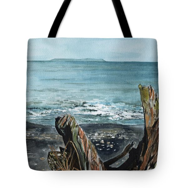 Driftwood Tote Bag by Brenda Owen