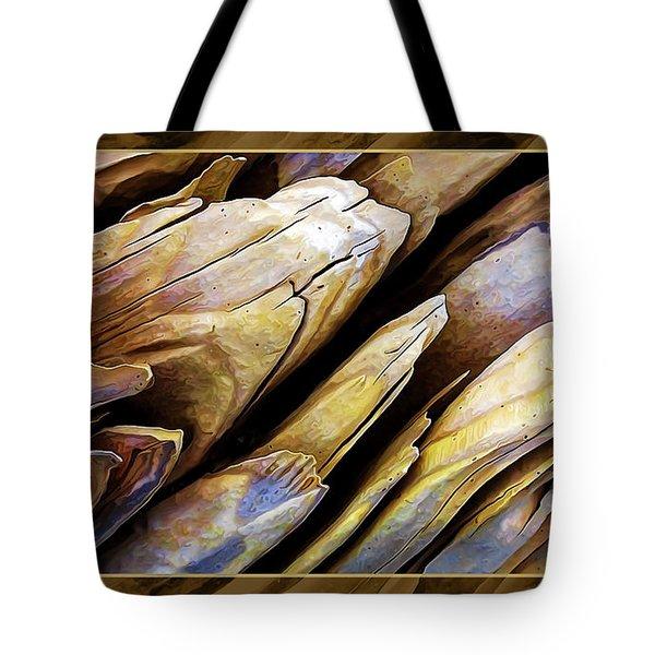 Driftwood Edges Tote Bag