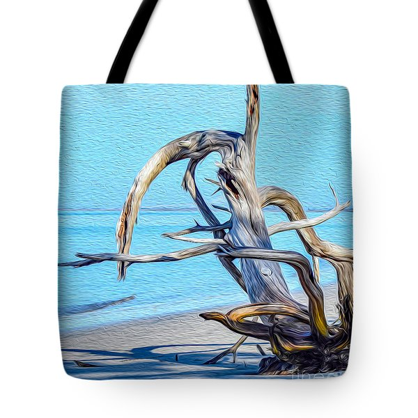 Driftwood On Jekyll Tote Bag