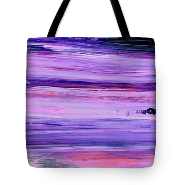 Driftwood Purple Tote Bag