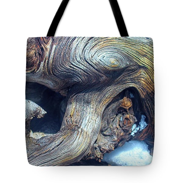 Driftwood Swirls Tote Bag by Todd Breitling