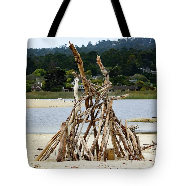 Driftwood Tipi With A View Tote Bag