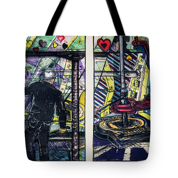 Drillers Love And Gimmicks Tote Bag