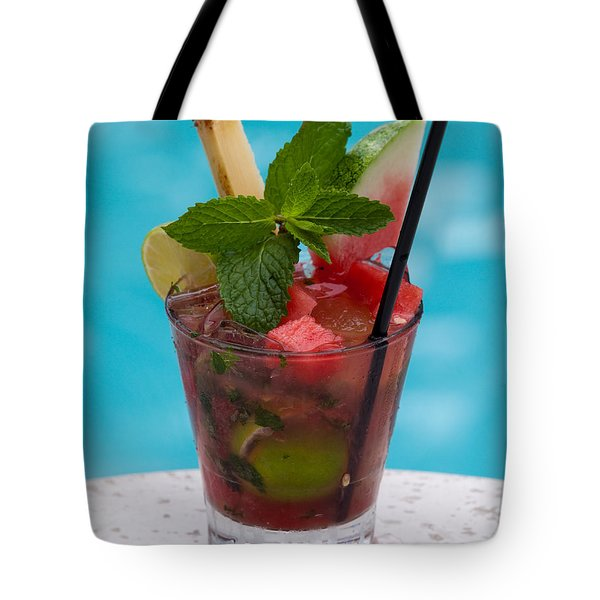 Drink 27 Tote Bag