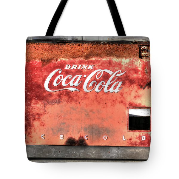 Drink Ice Cold Coca Cola Tote Bag