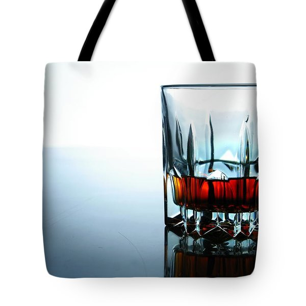 Drink In A Glass Tote Bag by Jun Pinzon