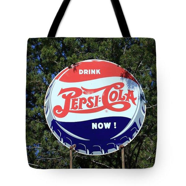 Drink Pepsi - Cola Now  Tote Bag