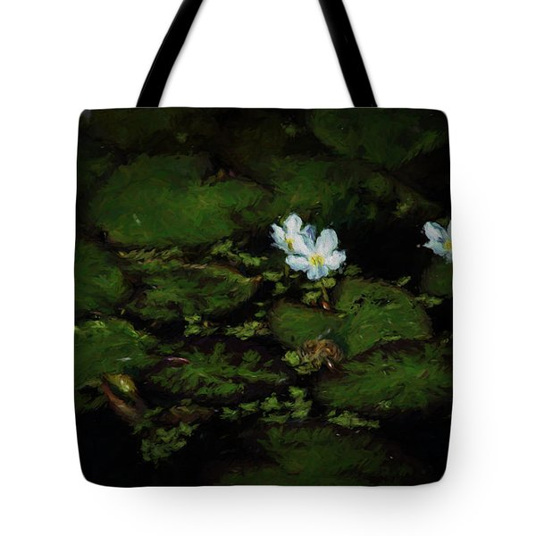 Tote Bag featuring the photograph Drinking Bee 2 by Travis Burgess