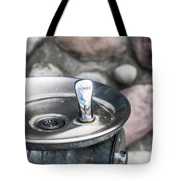 Drinking Fountain Tote Bag