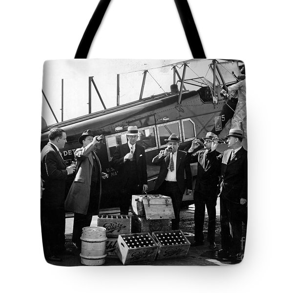 Drinking Prohibition Agents  Tote Bag